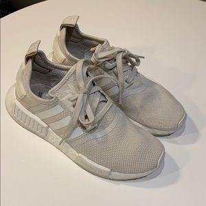 Adidas NMD - size 7 - beige cream women's